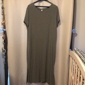 Old Navy Long Tee Shirt Dress Size XL